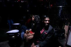 Far and wide, patrons spilled into the underground venue to celebrate Valentines Day with a soulful and ambient line up.