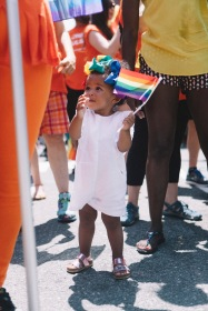 """Children @ NYC Pride Parade 2016"""